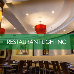 Restaurant & Dining LED Lighting